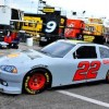 feature nascar white