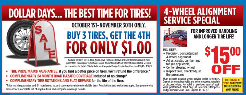 Get Ready For Winter Service Specials